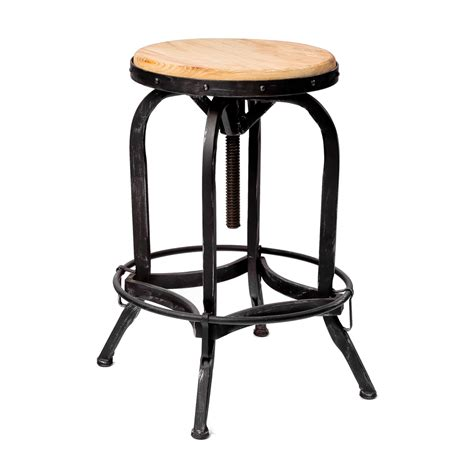 top rated bar stools best selling home decor adjustable wood metal bar stool atg stores