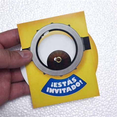 imagenes de minions para invitaciones invitaciones de minions para fiesta de cumplea 241 os tem 225 tica