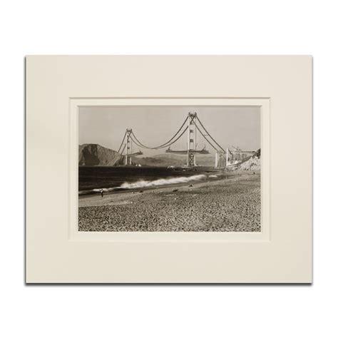 matted print golden gate bridge 1936