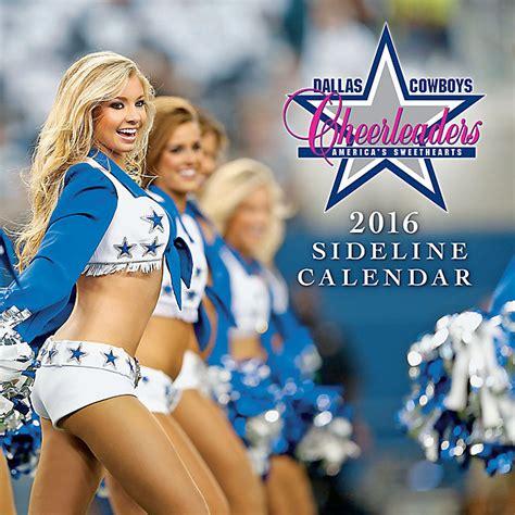 Dallas Cowboys Calendar Dallas Cowboys 2016 12x12 Sideline Wall