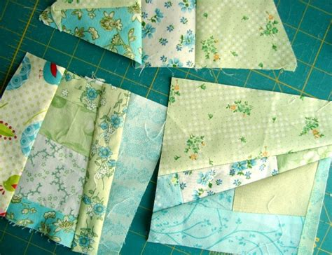 Scrap Patchwork - how to sew a mile a minute