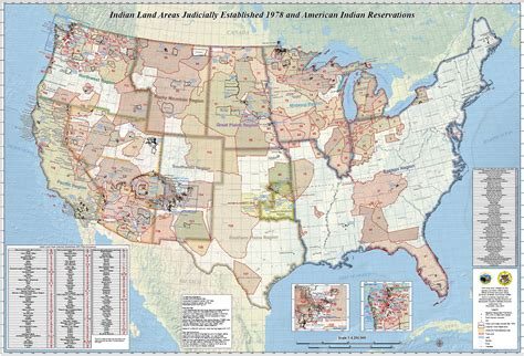 american reservations map tribal nations maps data gov