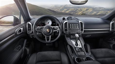 porsche cayenne interior 2017 porsche cayenne platinum edition announced performancedrive