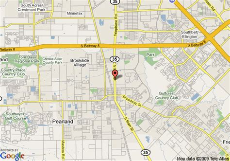 pearland texas map map of best western pearland inn pearland