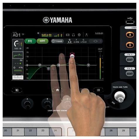 Mixer Digital Yamaha Tf5 yamaha touchflow tf1 16 channel digital mixer at