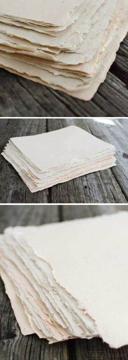Paper Process At Home - recycled materials and make paper on