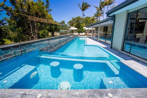 korora lap pool elevated glass spa atlas pools