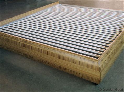 Custom Made Tables Bed With Curving Bamboo Frame Glendon Good
