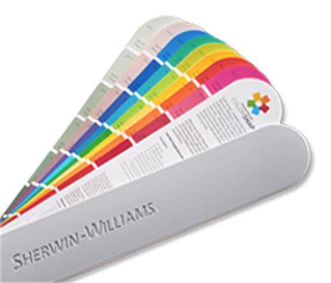 color fan decks color files sherwin williams
