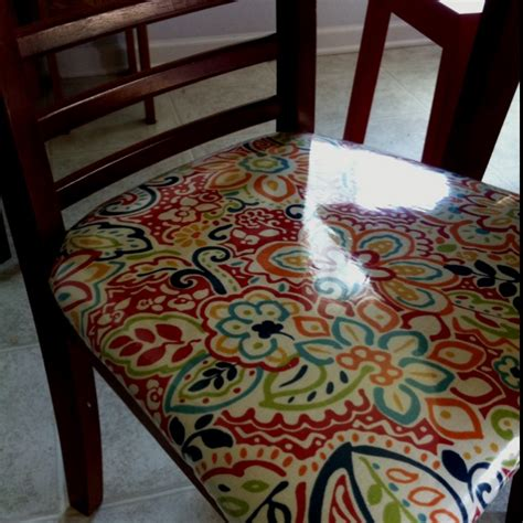 Vinyl Upholstery Fabric For Kitchen Chairs by 25 Best Ideas About Recover Chairs On