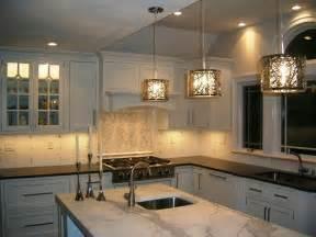 contemporary kitchen backsplash artistic tile river