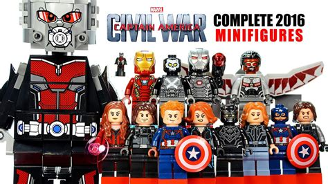 Lego City Theater Decool lego 174 captain america civil war marvel heroes 2016