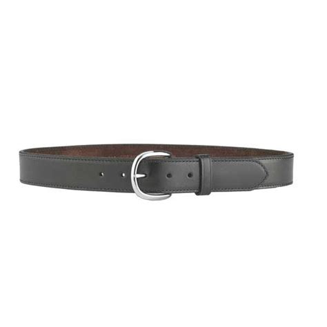 csb7 cop belt black leather holster belt by galco