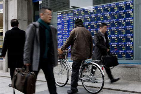japan stocks drop on stronger yen as energy shares fall
