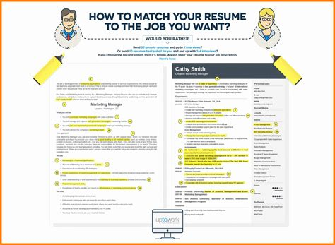how to tailor a resume to a description 9 how to do a resume for a applicationleter