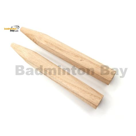 abroz wooden replacement for badminton racket handle 2