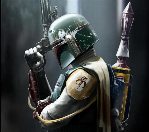 Halo Wall Mural star wars boba fett wallpaper wallpapersafari