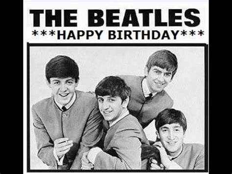 download mp3 the beatles happy birthday the beatles happy birthday to you youtube