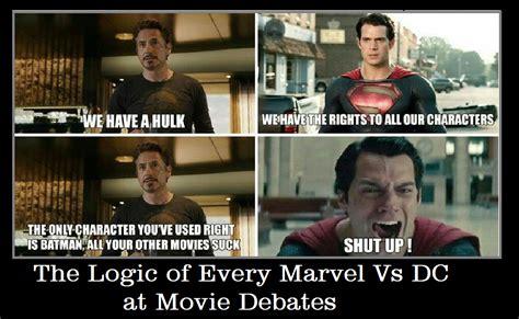 Dc Memes - dc vs marvel meme