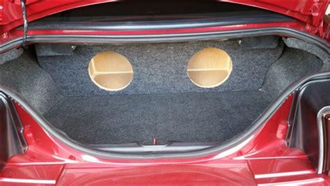 ford mustang subwoofer box custom sub enclosure affordable sub box