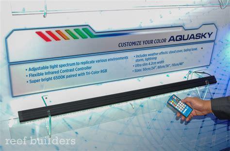 fluval aquasky led aquarium light sirius reef aquasky and marine reef are three new led