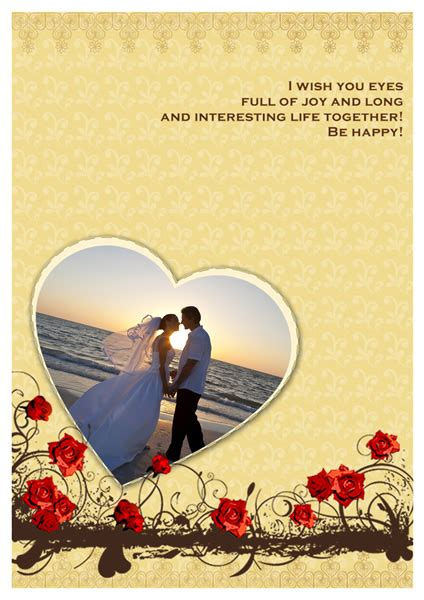 Marriage Greeting Card Templates by Wedding Card Templates Greeting Card Builder