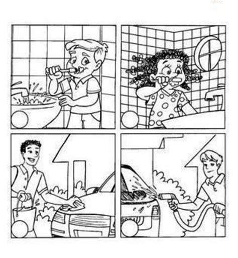 imagenes de como cuidar el agua para colorear de cuidar el agua para colorear imagui