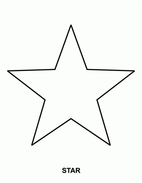 printable star a4 star coloring pages for preschoolers az coloring pages