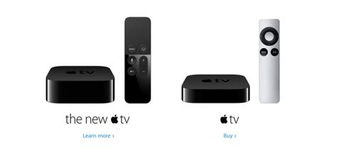 Apple Tv 3 what is the difference between the apple tv 4 and apple tv 3 the guide