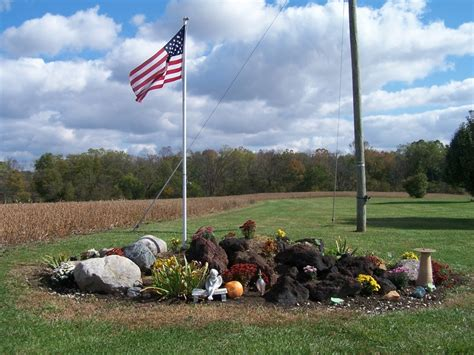 Flagpole Landscaping Ideas 17 Best Images About Flag Pole Ideas On Pinterest Gardens Memorial Plaques And Garden Ideas