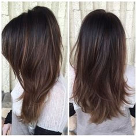 subtle ombre hair with soft waves medium ash brown hair brunette balayage highlights beauty hair pinterest