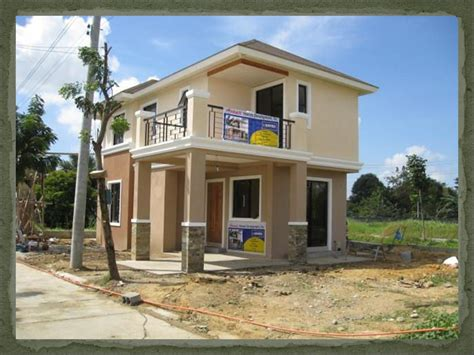 cheap 2 story houses pin simple two storey house design philippines pinterest