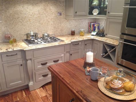 Artisan Countertops by Cambria Berkeley And Heritage Wood Of Artisan