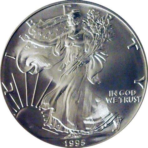 1 oz silver eagle coin worth 1995 american silver eagle dollar bu 1oz silver