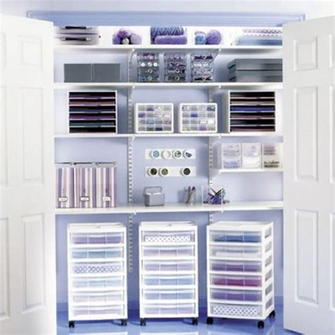 Craft Closet Organization Ideas by Ideas On How To Create A Home Design Studio Or Craft Room