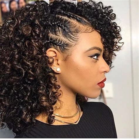 easy no heat summer hairstyles for girls with natural