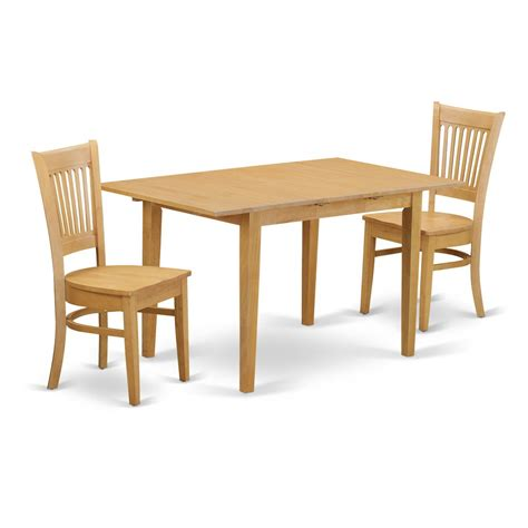 3pc Kitchen Table Set 3 Pc Kitchen Table Set Kitchen Dinette Table And 2 Dinette Chairs