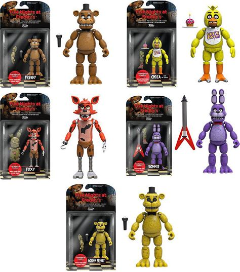 five nights at freddy s figures funko five nights at freddy s freddy chica foxy bonnie