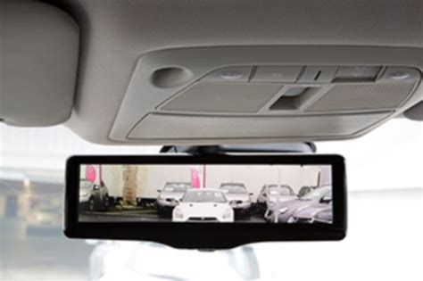 smart car mirror the next part of your car to get smart the rearview