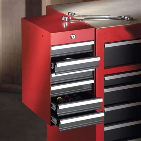 craftsman 6 drawer tool box quiet glide chest craftsman 6 drawer quiet glide 174 side chest red black