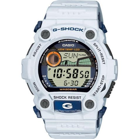 G Shock White g 7900a 7er casio mens g shock white