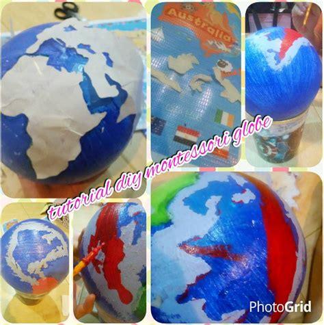 Cat Akrilik Titi kumpul diy montessori globe our playroom