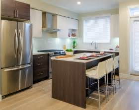 Kitchen Islands With Stools kitchen design for a small space this design includes a kitchen island