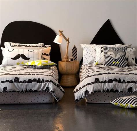 graphic comforters 31 fun bedding ideas for bold boys room designs digsdigs