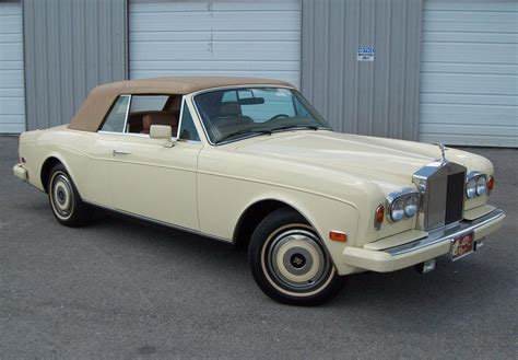 rolls royce corniche ii 1987 rolls royce corniche ii convertible 75493