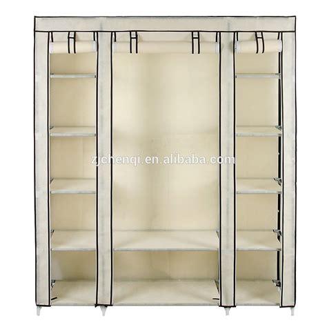 Cheap Wardrobe Storage by Cheap Folding Fabric Wardrobe Closet Clothes Storage Cabinet Portable Wardrobe Tm 221 Buy