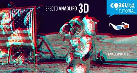 imagenes en efecto 3d tutorial gt efecto anaglifo 3d en coreldraw corelclub org