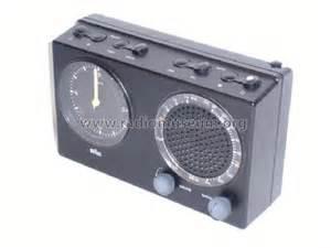 radiowecker braun radiowecker 4826 abr21 radio braun frankfurt build 1980