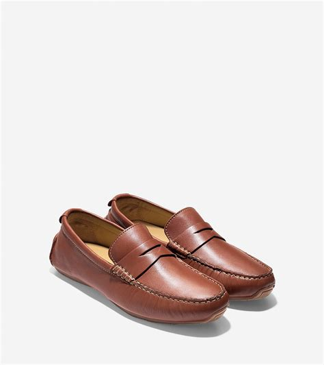cole haan air somerset loafer lyst cole haan somerset loafer in brown for