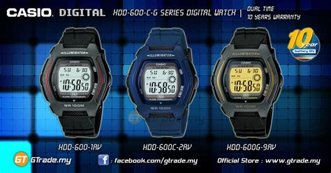 Promo Casio New Edifice Efv 530bl 2av Original Efv530bl 2a casio digital hdd 600c 2av dual time 10 years